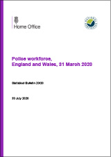 Police Workforce, England and Wales, 31 March 2020