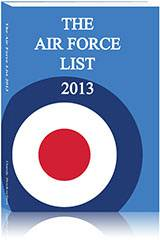 The Air Force List 2013